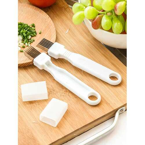 1 Pc Onion Cutter Knife Graters Vegetable Tool Cooking Tools Kitchen Accessories Gadgets Household