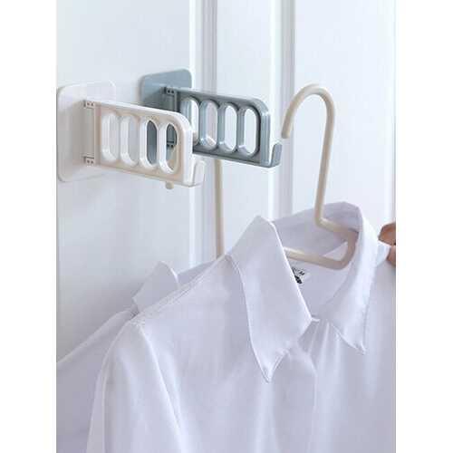 1Pc Mounted Wall Hook Up Hangers For Clothes Bedroom Door Kitchen Door Hook Up Link Hanging Rack Storage Cap Holder Kitchen Hanger