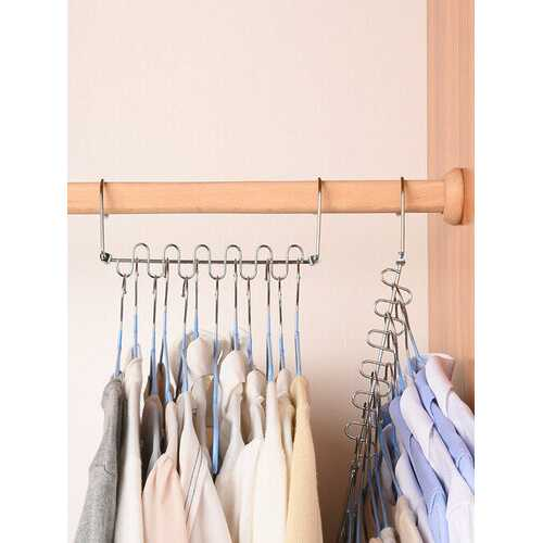 1PC 12 Holes Clothes Hanger Multi-function Drying Rack Magic Hangers Folding Rotating Storage Hanger For Pants Clothes Wardrobe Organizer