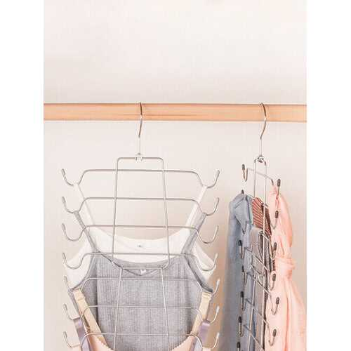 1PC 8 Layers Underwear Hanger Multi-layers Drying Rack Magic Hangers Folding Save Room Storage Hanger
