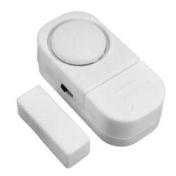 <US Instock>Window Alarm 10-Pack Mini Window Door Entry Alarm Burglar Security Alarm System Magnetic Sensor Protector For Home
