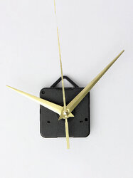 DIY Gold Quartz Clock Hands Movement Mechanism Parts Tool Set