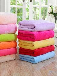 150x100cm Flannel Blanket Sofa Bed Soft Coral Fleece Bedding