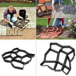 DIY Plastic Path Maker Mold