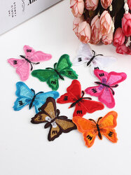 Butterfly Embroidered Applique