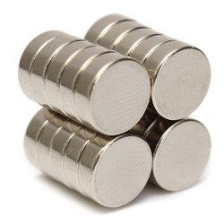 20pcs 9mm x 3mm N35 Neodymium Disc Magnets