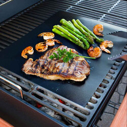 33X40CM Reusable BBQ Grill Mat Non-stick Mat Baking Liner