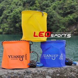 11L Multicolor Choices Portable Collapsible Outdoor Camping Use Bucket Fishing Use Pails