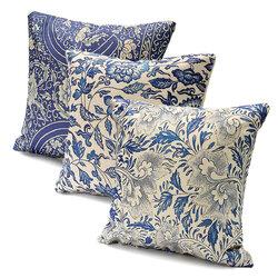 Vintage Oriental Cushion Cover Cotton Linen Pillow Case