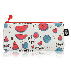 Cute Pencil Case Bag Pen Holder Bag Office School Stationary Cosmetic Bag