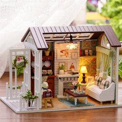 DIY Happy Times Wood Dollhouse