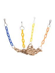 Pet Bird Cage Hammock Swing Hanging Chew Toys