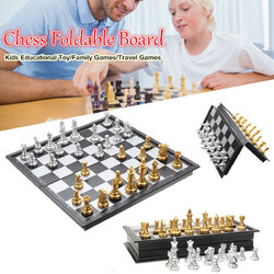 Magnetic International Chess  Foldable Chessboard