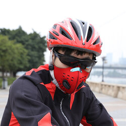 Dustproof PM 2.5 Gas Protection Filter Cycling Bicycle Activated Carbon Mask
