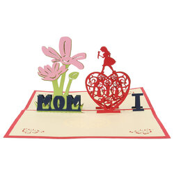 3D Mothers' Day Gift Card