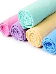 66x43cm Pet Puppy Soft Bath Towel Artificial Buckskin Water Absorption Towel