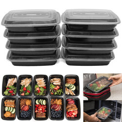 10Pcs 24oz Food Containers