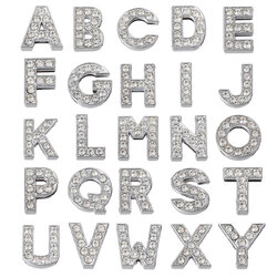 DIY Crystal Letters Accessories