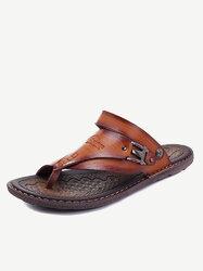 Category: Dropship Shoes & Boots, SKU #SKU585573, Title: Men Clip Toe Slippers Comfortable Sandals