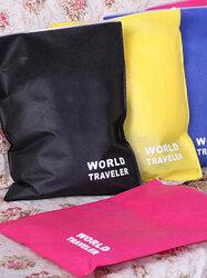 Waterproof Clothes Underwear Bra Shoes Storage Bag Travel Wash Protect Cosmetics Plastic Storage Bag