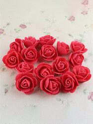 50Pcs Colourfast Handmade Foam Rose Flowers Bouquet DIY Wedding Party Decoration
