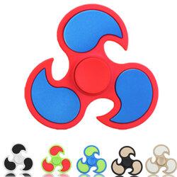 ECUBEE EDC Fidget Spinner Gadget Tri-Spinner Finger Hand Spinner Gadget 6 colors Available