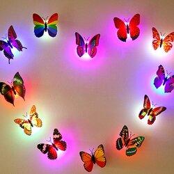 Honana DX-68 Butterfly LED Night Light