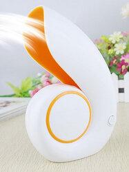USB Charging Mini Mute Fan Creative Portable Turbine Small Blower No Leaf Cooler Office Smart Home Appliances