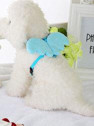 Creative Pet Dog Traction Rope Leash Belt Angel Wings Teddy Big Dog Puppy Walking Lead