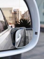2PCS Adjustable Car Convex Blind Spot Car Window Shade