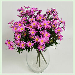 10PCS/ Artificial 9 Heads Daisy Flowers