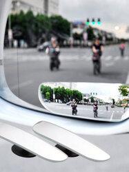 2pcs Slim Car Rear View Blind Spot Mirror