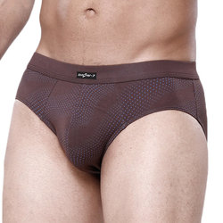 Casual Comfortable Breathable Printing U Convex Briefs for Men