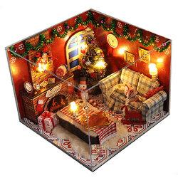 Christmas Room DIY Doll House