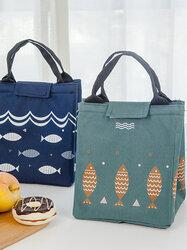 SaicleHome Lunch Tote Bag Insulated Handbag