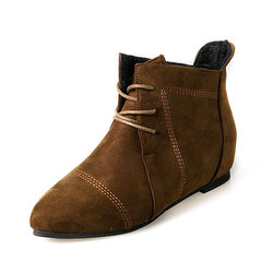 Large Size Suede Boots
