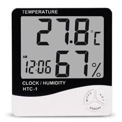 Digital LCD Electronic Alarm Clock