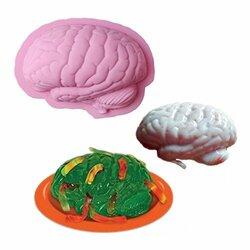 Human Brain Shape Baking Silicone Halloween Cake Mold