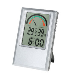 Garden Temperature Humidity Max Min Value Alarm Clock