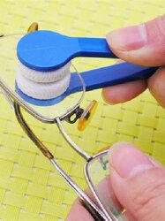 Microfiber Mini Glasses Clean Brush