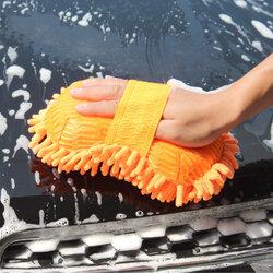 Magic Chenille Elastic Washing Gloves Clean Sponge Cloth