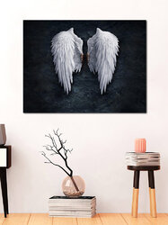 <US Instock>Angel Wings Painting Unframed Fashion Abstract Wall Art Living Room Bedroom Decor Canvas