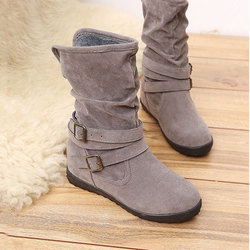 Large Size Fur Lined Boots