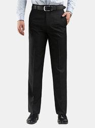 Mens Plus Size 30-48 Straight Suit Pants