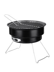 <US Instock> Portable Charcoal Grill BBQ Grill for Indoor and Outdoor Cooking w/ Travel Bag and BBQ Toos