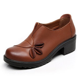 Large Size Leaf Soft Shoes