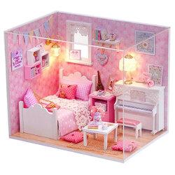 DIY Piano Room Dollhouse