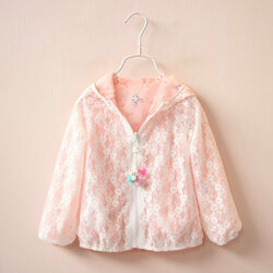 Baby Girls Summer Sunscreen Outerwear