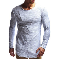 Casual Cotton Solid Color T-shirts