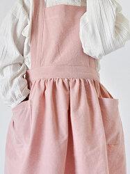 Cotton Linen Kid Apron